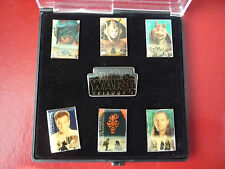 PIN. STAR WARS  Set , Episode I  , 7 Pins im Display