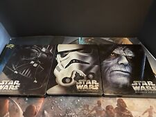 Star Wars A New Hope Empire Strikes Back Return (Blu-ray Disc, 2015, SteelBook)