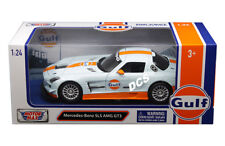 MOTOR MAX Mercedes Benz SLS AMG GT3 Gulf Oil 1/24  Diecast Car Model  79646