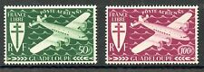 STAMP / TIMBRES COLONIES FRANCAISES NEUF GUADELOUPE PA N° 4/5**