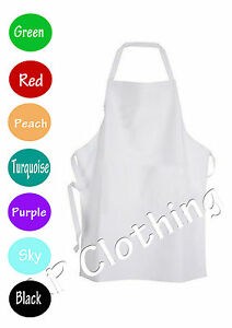 Junior chef apron with pocket baking kitchen school kids craft painting Cute