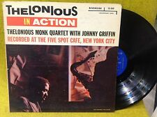 Rare LP THELONIOUS MONK in action - RIVERSIDE RLP 12-262 2nd  press US