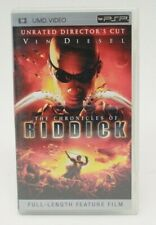 The Chronicles of Riddick Unrated Director's Cut (Psp Umd) Cib Complete In Box