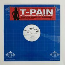 "T-Pain - I'm In Luv (Wit a Stripper) - 12"" Vinyl Single | R&B DJ Promo"