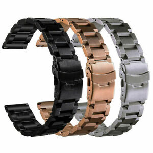 Stainless Steel Watch Strap Band For Samsung Galaxy Watch 42mm/46mm Link Band