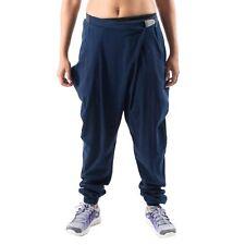 Women's PUMA By HUSSEIN CHALAYAN Drape Pants Mc Hammer Joggers Navy S (T92) $100