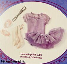 American Girl Shimmering  Ballet Outfit NIB   NIB
