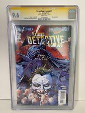 Detective Comics #1 signed CGC 9.6 Tony Daniel
