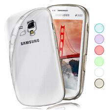 Silikon Case für Samsung Galaxy S3 Mini Schutz Hülle Transparent Thin Back Cover