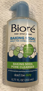 NEW BIORE BAKING SODA PORE CLEANSER GREAT FOR COMBINATION SKIN 6.77 OZ FREE SHIP