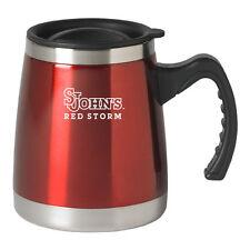 St. John's University - 16-ounce Squat Travel Mug Tumbler - Red