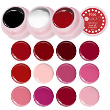 14x Red UV LED Soak Off Nagellack Polish Box Lot Set Paint Draw Varnish Gel Lack