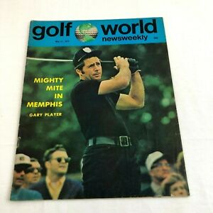 Gary Player Golf World Newsweekly Magazine May 1974