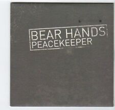 (EZ100) Bear Hands, Peacekeeper - 2014 DJ CD
