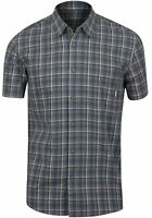 Quiksilver Mens Everyday Check Shirt SS Shirt - Blue/Yellow/White