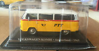 "DIE CAST "" VOLKSWAGEN KOMBI - SWITZERLAND - 1965 "" 1/43 TAXI SCALA 1/43"