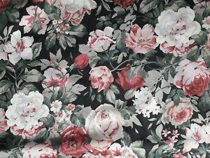 DORMA good quality king size floral cottage duvet set & 5 pillowcases reversible