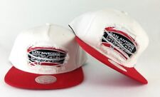 New Mitchell & Ness San Antonio Spurs White / Red Destructed Snapback Hat