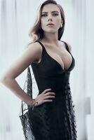 """Black Widow ( 12"""" x 18"""" ) Movie Collector's Poster Print  Scarlett Johansson"""