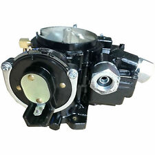 New listing Marine Carburetor For Mercruiser 2 Barrel 3.0L 4 Cyl with A Long Linkage(Black)