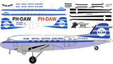 KLM Douglas DC-3 C-47 airliner decals for Minicraft 1/144 kits