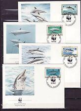 Montserrat 1990 - FDC - Vissen/Fish/Fische (WWF / WNF)