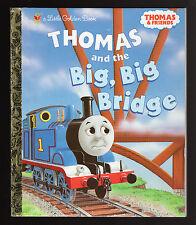 Little Golden Book-Thomas and the Big, Big Bridge (2003) 1st  Ed. - NEW