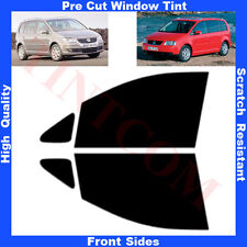 Pre Cut Window Tint VW Touran 5 Doors 2002-2009 Front Sides Any Shade