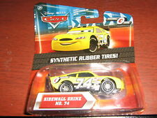 DISNEY CARS SIDEWALL SHINE NO.74 SYNTHETIC RUBBER TIRES