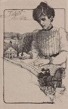 #1832 First Day Ceremony Program 15c Edith Wharton Stamp