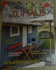 Zeitschrift Landlust Zuhaus  -Bauen-wohnen-gestalten-    Neuwertig