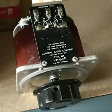 General Radio Company Type W5 Variac Auto-transformer