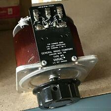 tGeneral Radio Company Type W5 Variac Auto-transformer
