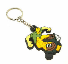 Motorcycle Keyholder Soft Rubber Silicone Keychain Keyring Chain Rings Dangles