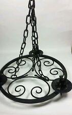 Vintage/Retro Iron Hanging Candle & Tea Light Holders