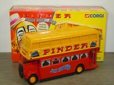 Bus Daimler Double Etage Pinder Circus - Corgi 35202 - 1:50 in Box *44251