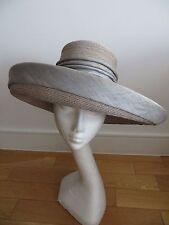 Ascot Wedding Hat Green Grey Sylvia Fletcher Kate Duchess Cambridge Milliner NEW