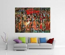 I GUERRIERI Graffiti Gigante muro ARTE FOTO STAMPA POSTER