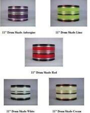 Abat-jours multicolores en tissu pour le salon