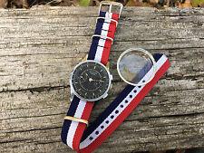 Vintage SEKONDA 3017 Military Chronograph Strela Poljot USSR Russian Watch