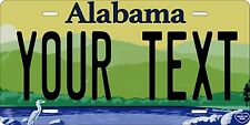 Alabama 2014 License Plates Tag Personalized Auto Car Custom VEHICLE OR MOPED