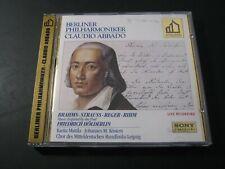 CD: Music inspired by Friedrich Hölderlin, Brahms, Strauss, Reger, Rihm