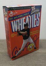 Vintage Wheaties Cereal w/ Cal Ripken Jr. 18 oz Full Box Factory Sealed