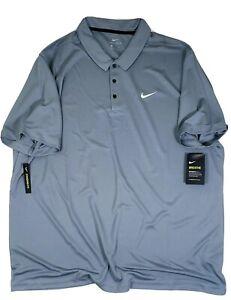 NIKE  SHORT SLEEVE FTBLL Polo Shirt 【3XL】 DRI FIT NWT NEW 【905942-065】