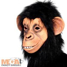 SCIMMIA Scimpanzè Pieno Maschera aeree costume Il Pianeta delle Scimmie da adulto Costume ACC