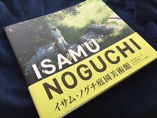 ISAMU NOGUCHI- beautiful catalog for garden museum Japan