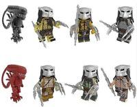 Alien Vs Predator Godzila Building Blocks Monsters Action Figures Educational