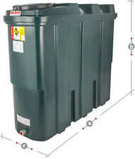 NEW DESO 1250 LITRE BUNDED OIL STORAGE TANK SUPPLIED AND FITTED
