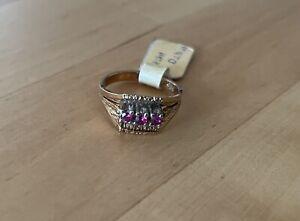 Goldring (585p) aus Juwelier-Nachlass