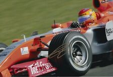 Adrian Valles Hand Signed 12x8 Photo - Formula 1 Autograph F1.